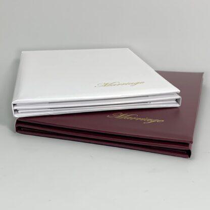 Three Certificate Folders